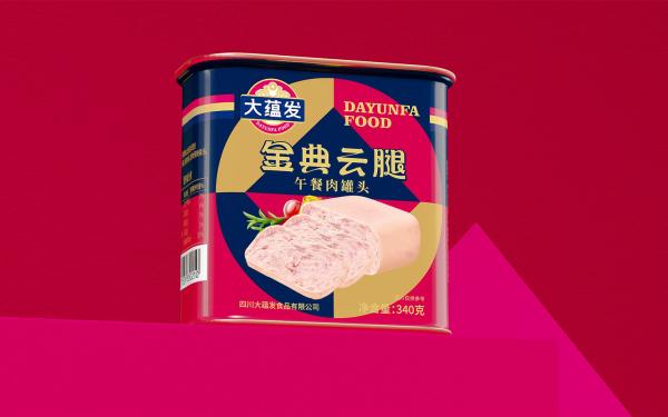 大蕴发食品罐头LOGO包装设计服务
