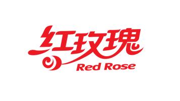 红玫瑰牌食品类LOGO设计