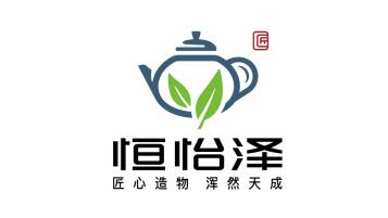 恒怡泽茶文化品牌LOGO亚博客服电话多少