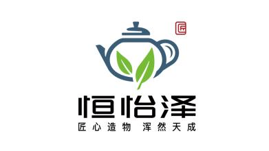 恒怡泽茶文化品牌LOGO设计