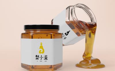 梨小道梨膏logo设计