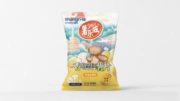 薯乐滋食品类包装设计