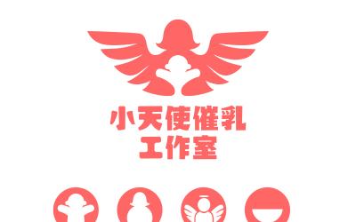 小天使母婴logo设计