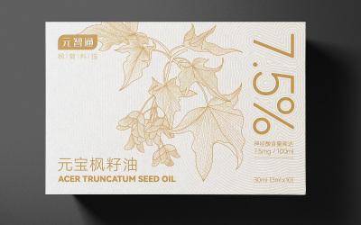 元宝枫籽油包装设计