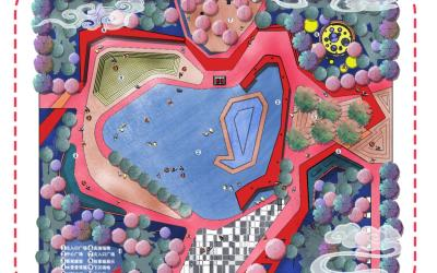 公园设计插画表现