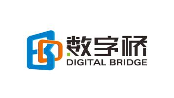 数字桥孵化器LOGO设计