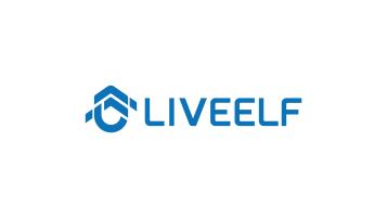 LIVEELF电子科技品牌LOGO设计
