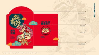 虎年红包设计
