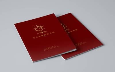 北京夸克医疗画册设计
