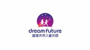 追夢未來兒童游樂園LOGO設計