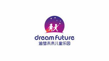 追梦未来儿童游乐园LOGO设计