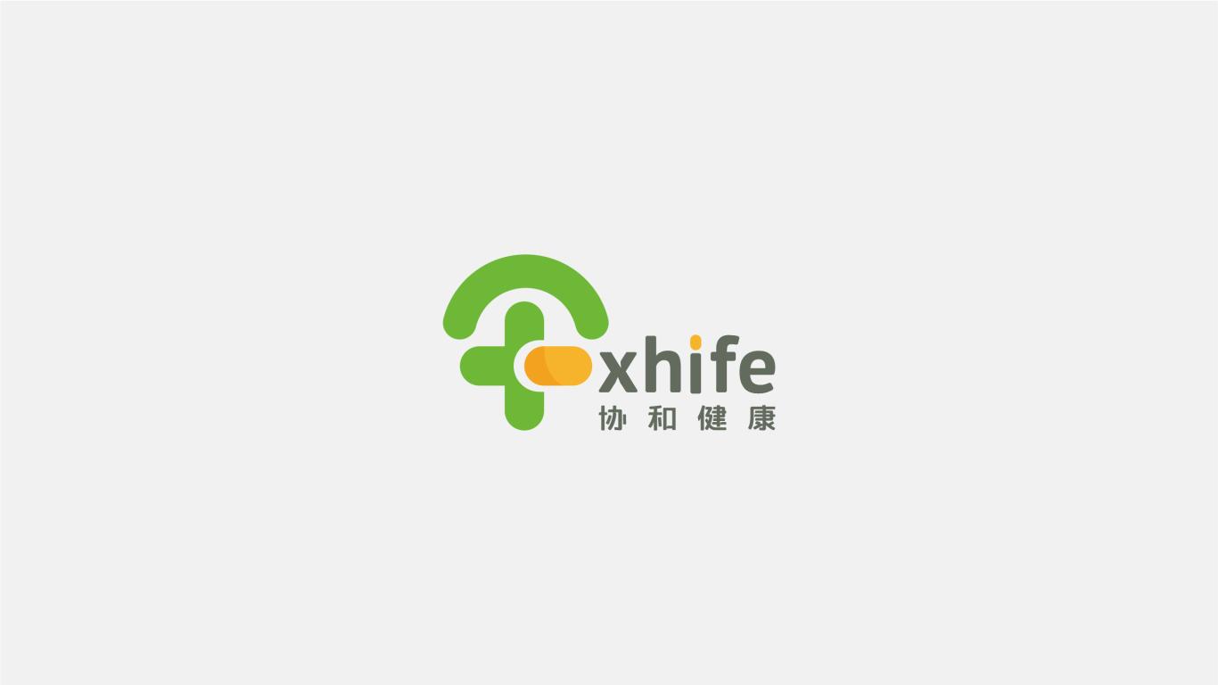 Xhif-医药医疗-LOGO/VI设计图1