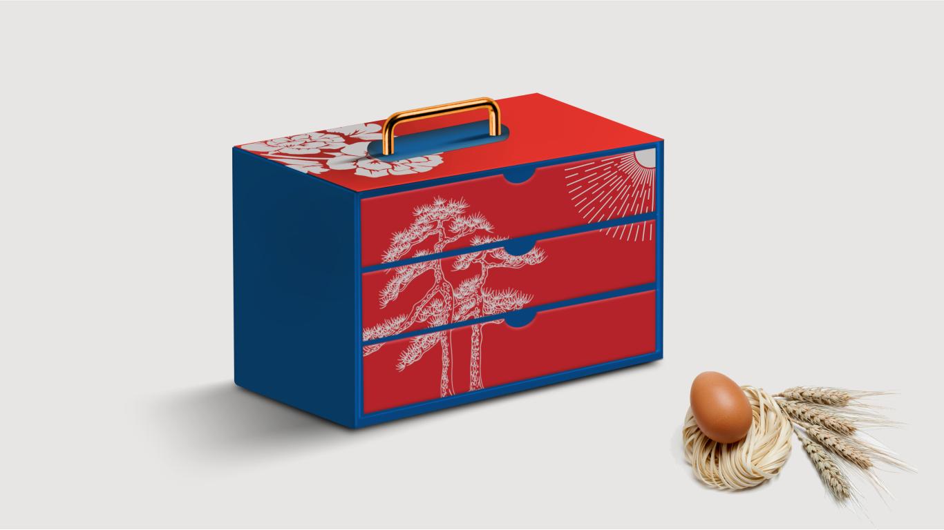 鸡蛋礼盒包装设计方案图0