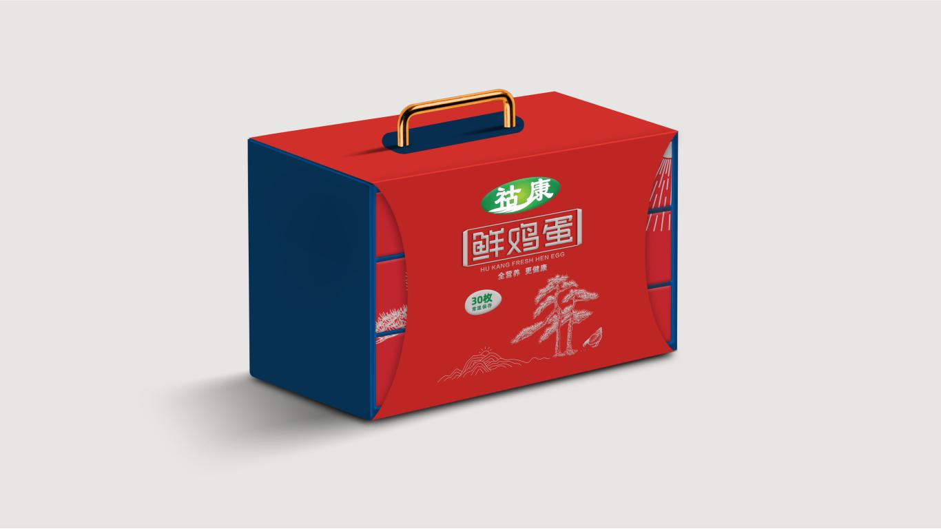 鸡蛋礼盒包装设计方案图2