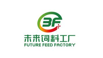 未来饲料工厂互联网类LOGO设计