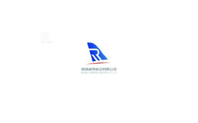 润泽通用航空logo设计
