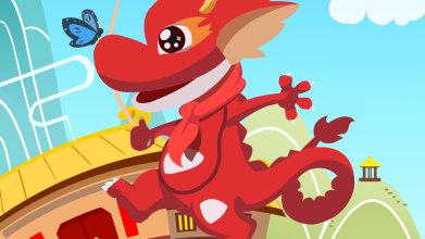 dragon talk科技类海报设计