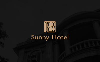 阳驿酒店logo设计