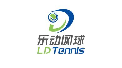 乐动网球体育文化类LOGO设计