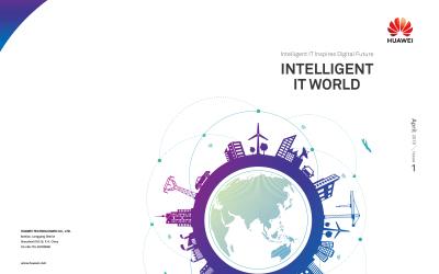 IT数智慧中英文画册设计