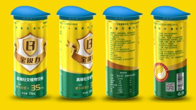 宝锐力生物科技饮品包装设计