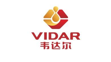 韦达尔润滑油品牌商标设计