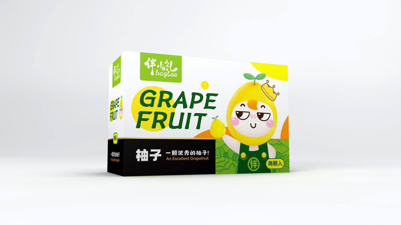 伴小礼水果类包装设计中标图0