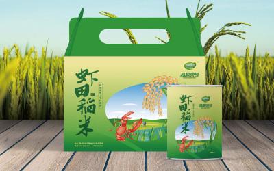 虾田稻米包装设计