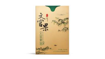 文官果食用油礼盒包装设计