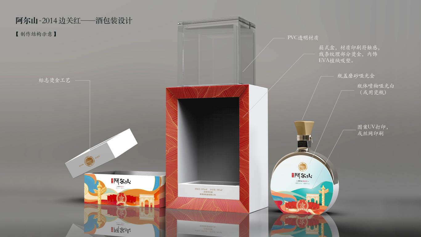 阿尔山清香型白酒类包装设计中标图4