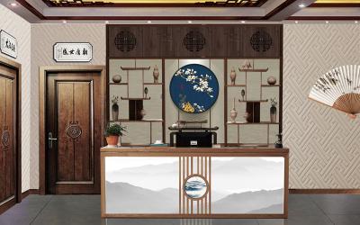 熊家村中式餐厅空间设计