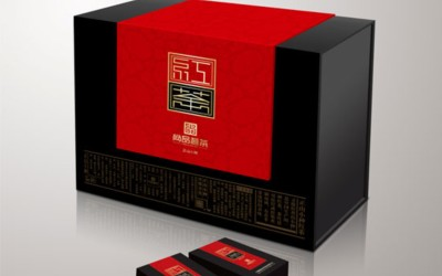 神农红茶叶包装设计