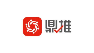 鼎推网络科技类LOGO设计