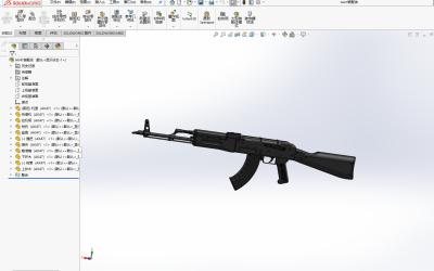 AK47模型