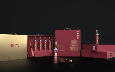 【包装设计】-龙砚阁品牌小磨香...