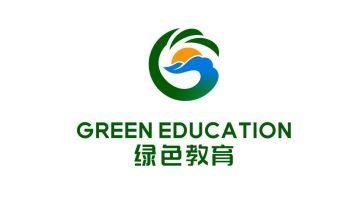 绿色教育品牌LOGO设计