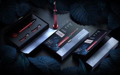 高端金属质感 电动牙刷礼盒包装