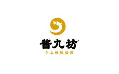 酱九坊-酱香白酒-logo设计