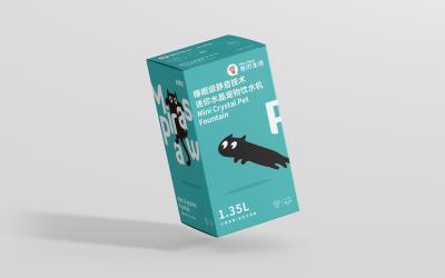 宠物饮水机外包装设计