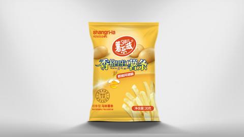 薯乐滋薯条包速度很快装设计