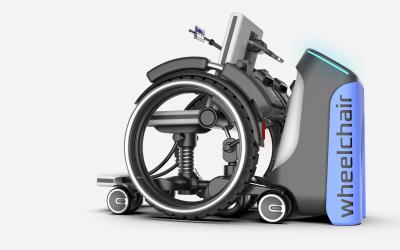 共享轮椅护理床设计