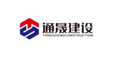 广东通晟建筑品牌LOGO设计