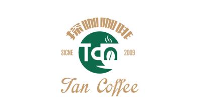 探咖咖啡咖啡店LOGO设计