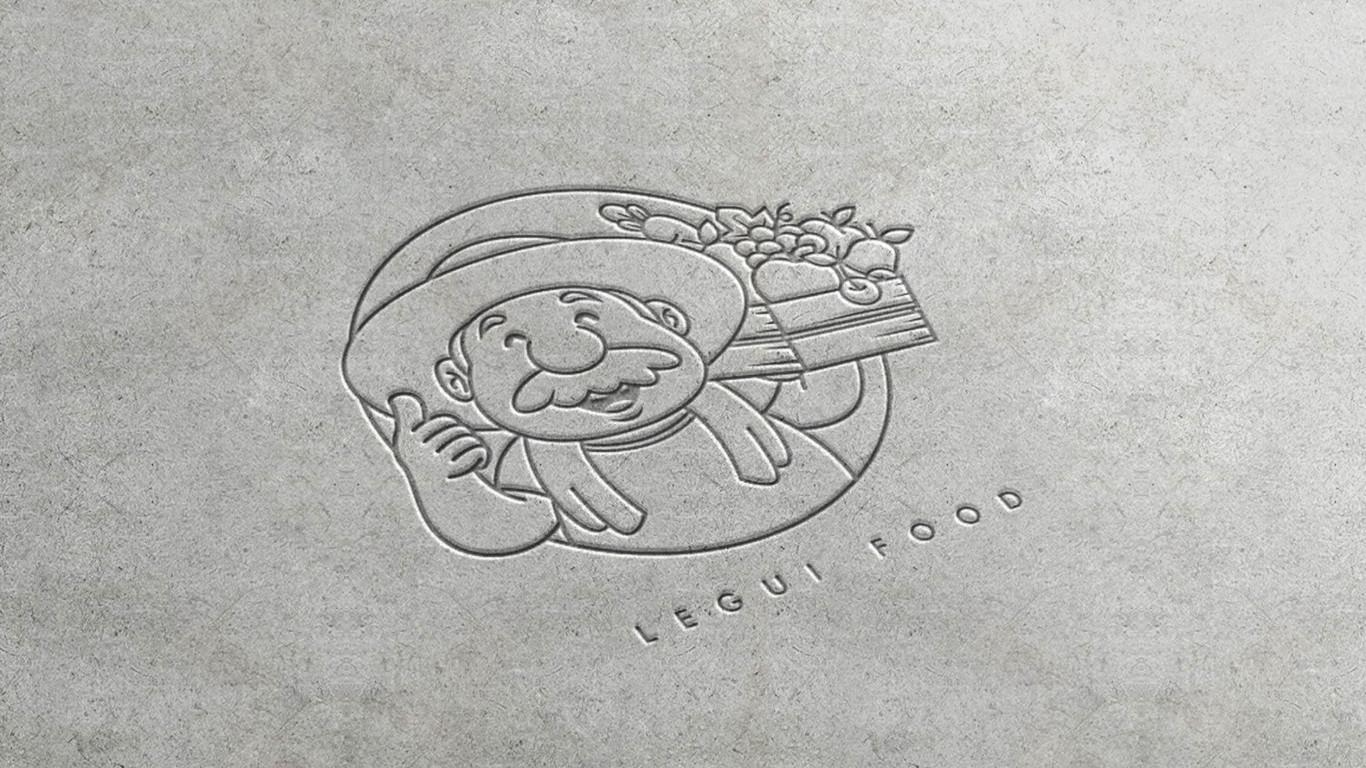 乐归农产品品牌LOGO设计中标图1