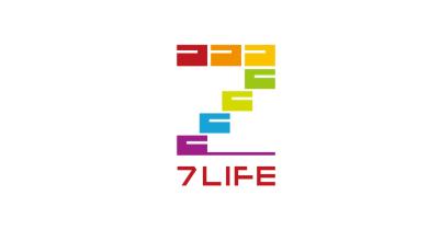 7LIFE日系风格贸易LOGO设计