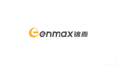 genmax �\麦综合贸易企】业LOGO设计