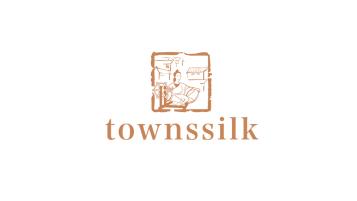 townssilk纺织品类LOGO设计