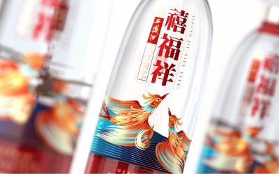 西凤酒·禧福祥酒包装设计