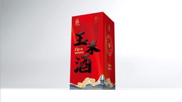 土家福酒玉米酒包装设计