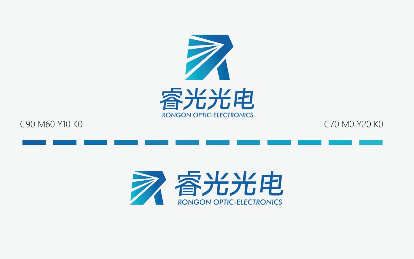 睿光光电高科技产品的logo标志vi设计图2